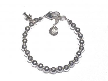 Sterling Silver First Communion Bracelet © Contemplation Marks