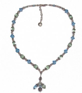 Ocean Drop Necklace © Contemplation Marks