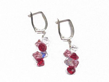 Siam Crystal Earrings © Contemplation Marks